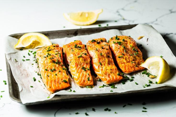 Long to Bake Salmon